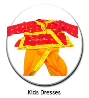Kids Janmashtami dresses