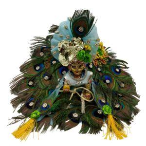 Kanha Ji Dress peacock feather dress