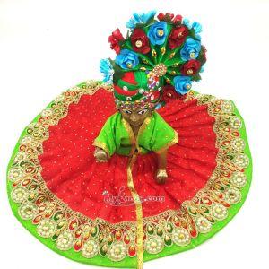 Ladoo Gopal Ki Dress