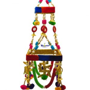 Jhoomar With Beautiful Beads & Satiya Decoration