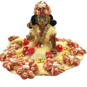 Thakur ji Flower Dress