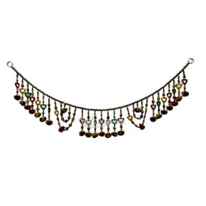 Beautiful Heart Shape Beads Bandanwar / Toran