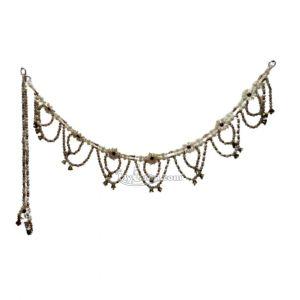 Beautiful White Beads Toran