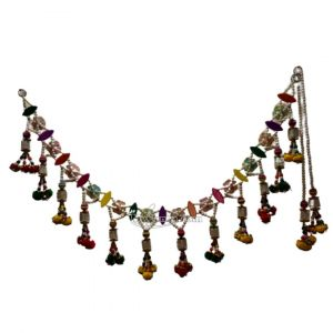 Multicolour Beautiful Beads With Coloured Flower Decoration