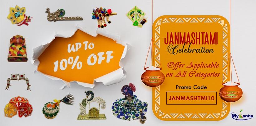 Janmashtami decoration ,,accessories , ornaments etc.
