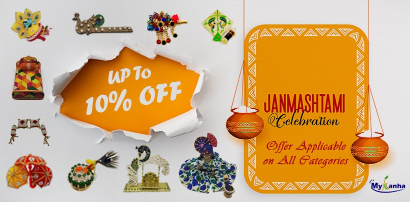 Janmashtami dresses  ,accessories , ornaments etc.